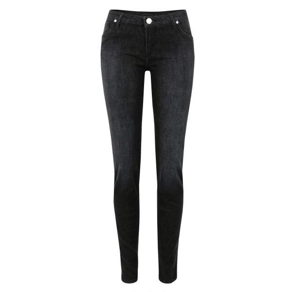 Victoria Beckham Women's VB1 Rinse Super Skinny Jeans - Black
