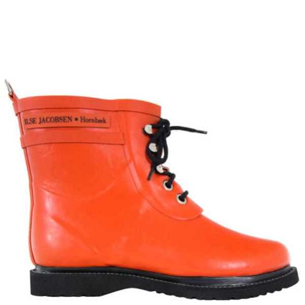 Ilse Jacobsen Women's Rub 2 Boots - Orange