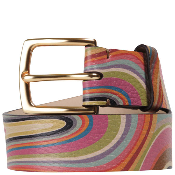 Paul Smith Accessories Women's Barley Belt - Multi Swirl
