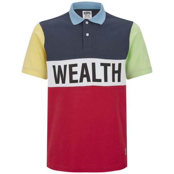 Billionaire Boys Club Men's Wealth Club Polo Shirt - Lollipop Red