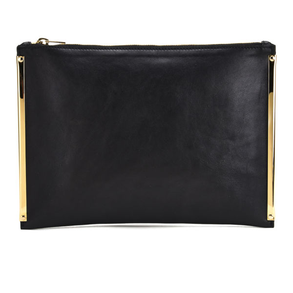 Sophie Hulme Large Zip Pouch - Black