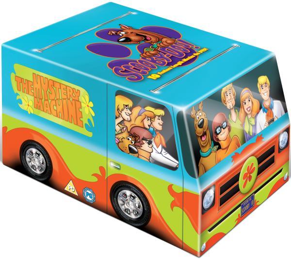 Scooby Doo Mystery Machine Box Set Dvd Zavvi