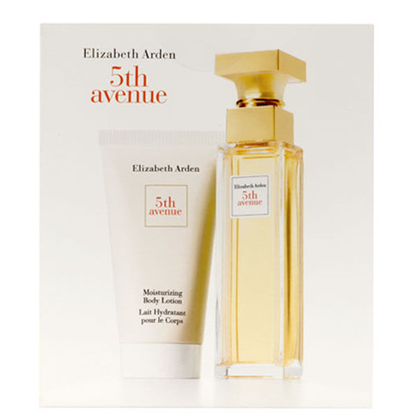 elizabeth arden 5th avenue gift set 2 products free
