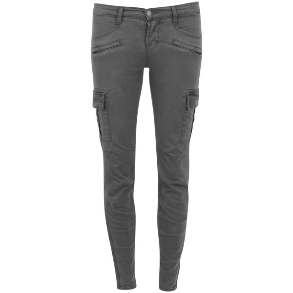 J Brand Women's Grayson Low Rise Skinny Jeans - Vin Black