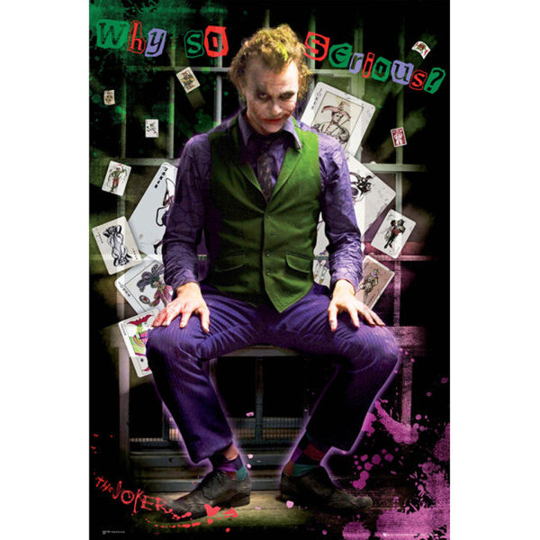 Batman (Dark Knight) Joker Jail - Maxi Poster - 61 x 91.5cm