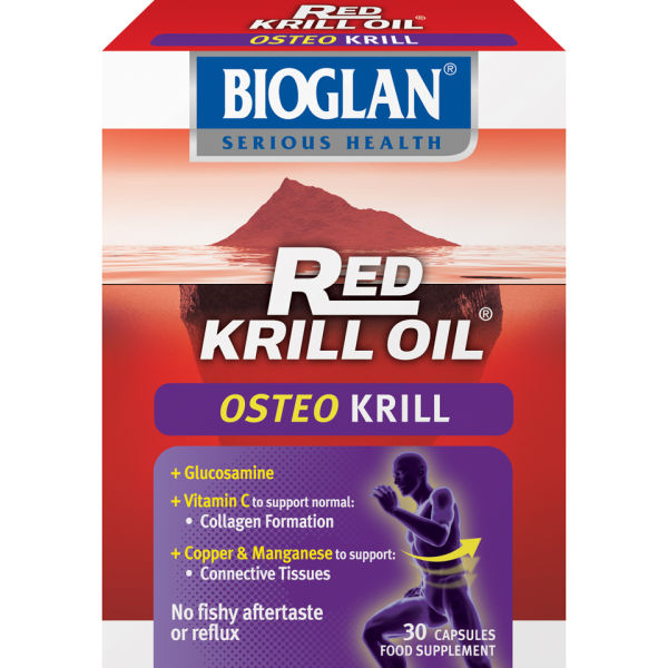 Bioglan Red Krill Oil Osteo Krill (30 kapslar)