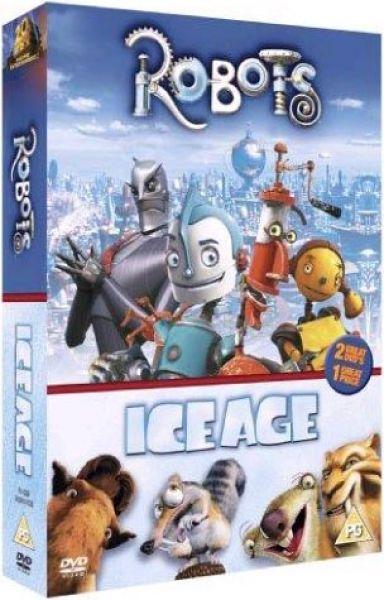Robots Ice Age Dvd Zavvi
