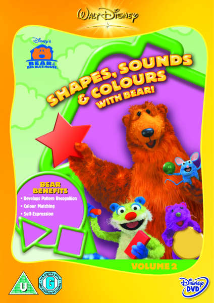 bear in the big blue house shapes sounds colours image 1 - Big Blue House