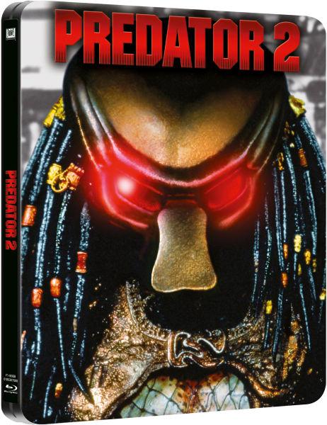 Predator 2 Limited Edition Steelbook Includes Dvd Blu