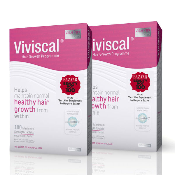Viviscal Maximum Strength 6 Month Supply Tablets (360 Tabs)