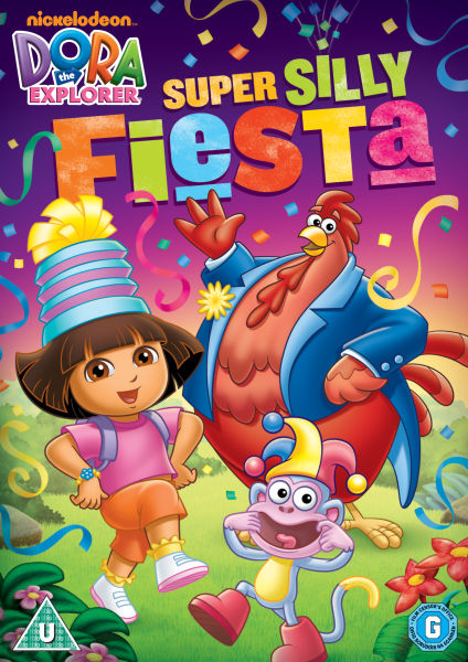 Dora The Explorer - Super Silly Fiesta DVD | Zavvi