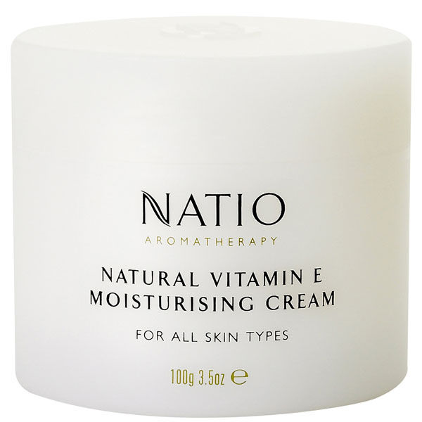 Crema hidratante Vitamina E natural de Natio (100g)