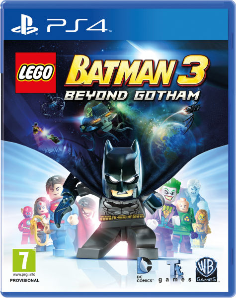 LEGO Batman 3: Beyond Gotham PS4 | Zavvi