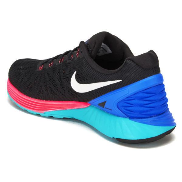 newest collection fa650 335e9 ... Nike Mens Lunarglide 6 Running Shoes - BlackBluePink Image 5 . ...