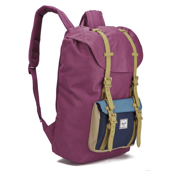 bf0f9ebd4b Herschel Supply Co. Women s Little America Mid Volume Backpack - Dusty  Blush  Image 2