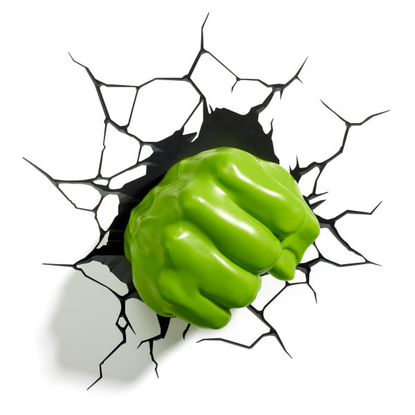 Marvel Hulk Fist 3D Light