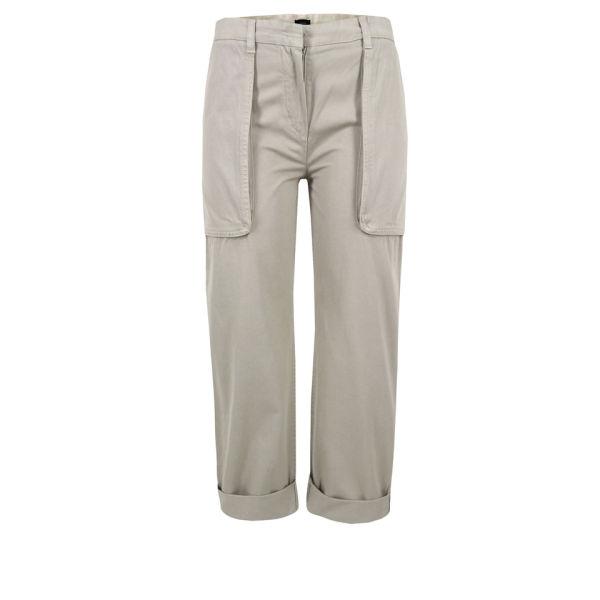 Joseph Women's Montana Cropped Trousers - Stone