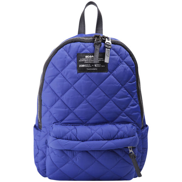 Ecoalf Mini Oslo Quilted Backpack - Blue Klein