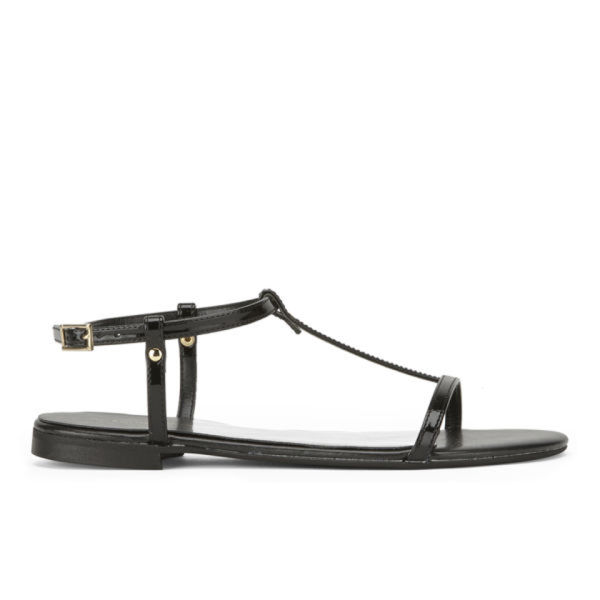 KG Kurt Geiger Women's Match Metallic Sandals - Black