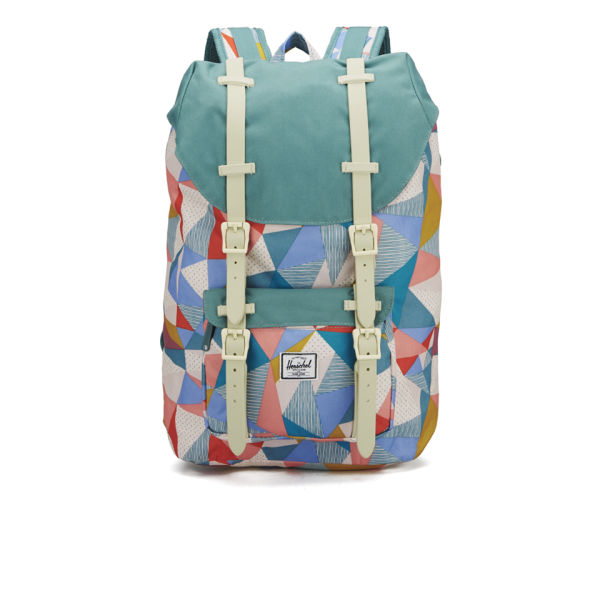 Herschel Supply Co. Women's Little America Mid Volume Backpack - Quilt/Seafoam