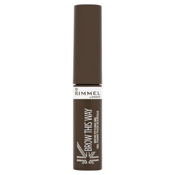 Rimmel Brow This Way Eyebrow Gel - Mid Brown