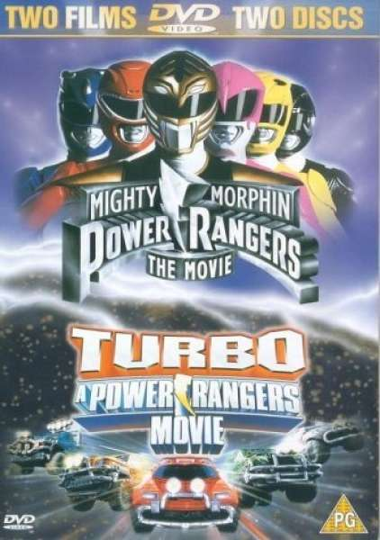 Power Rangers Double Feature Dvd Zavvi