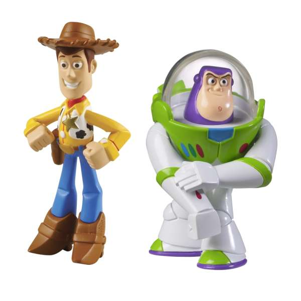Toy Story 3 Buddy Pack Laser Buzz Lightyear And Hero Woody Toys Thehut Com