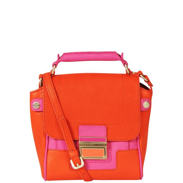 Tommy Hilfiger Women's Fleur Small Satchel - Red/Orange