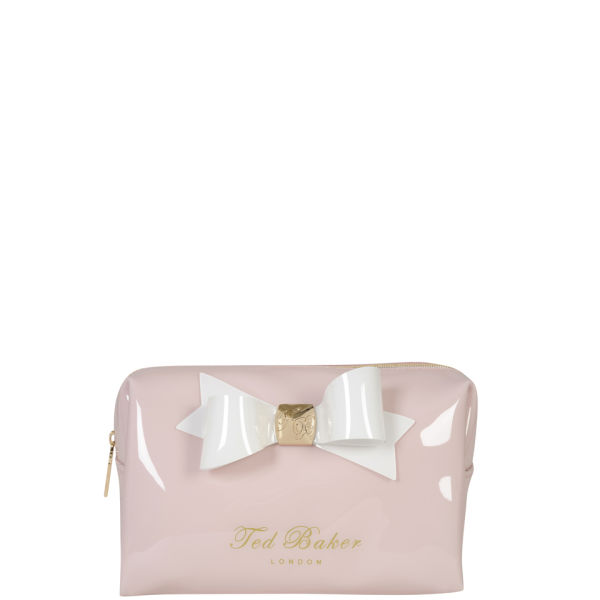 98b9a9c18f Ted Baker Women's Kalipso Small Bow Washbag - Baby Pink: Image 1