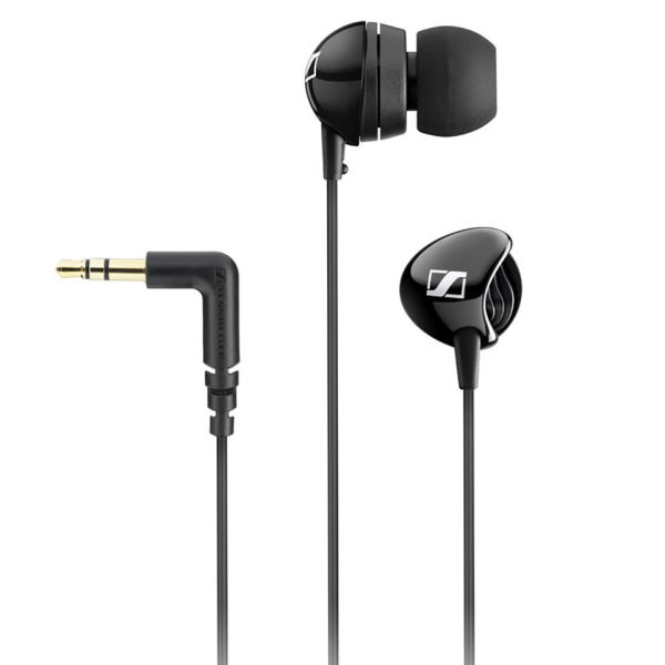 Earphones sennheiser cx - black apple earphones