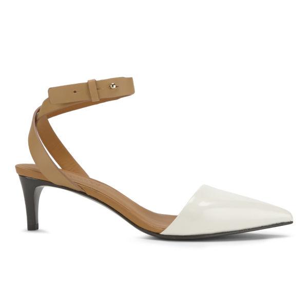 See by Chloe Women's Pointed Kitten Heels - White