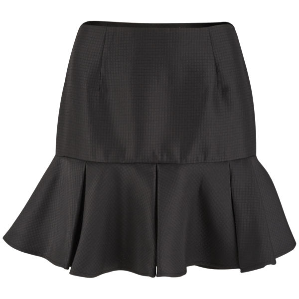 Finders Keepers Women's Time Traveller Skater Skirt - Black