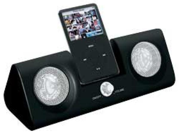 intempo ids 04 black ipod docking station electronics. Black Bedroom Furniture Sets. Home Design Ideas