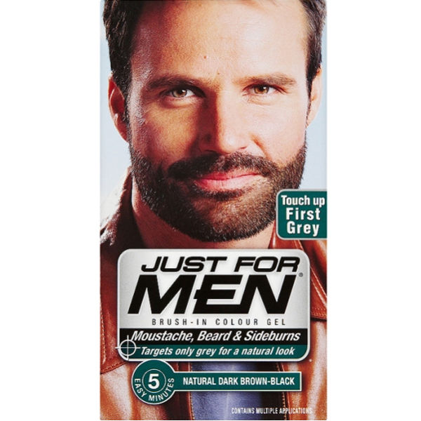 Just For Men Beard And Moustache Colour Gel Dark Brown