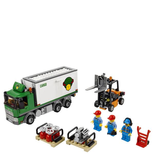 lego city airport cargo truck 60020 toys zavvicom