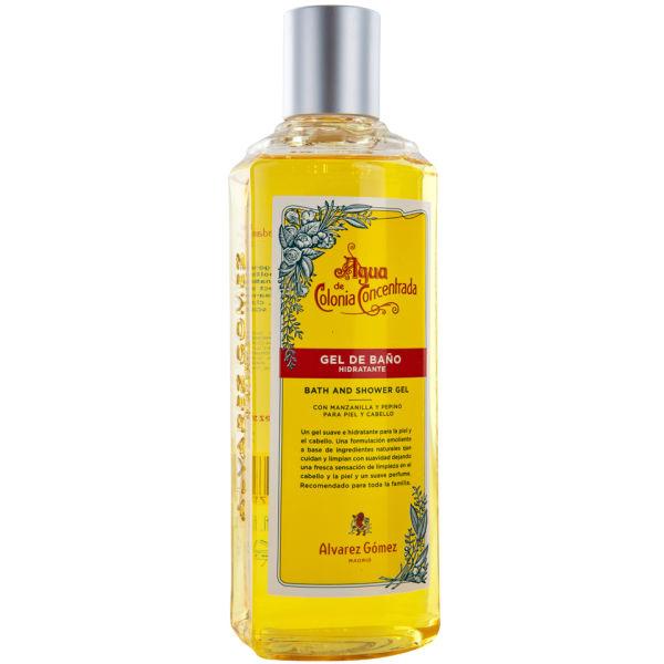 Agua de Colonia Eau de Cologne Bath and Shower Gel