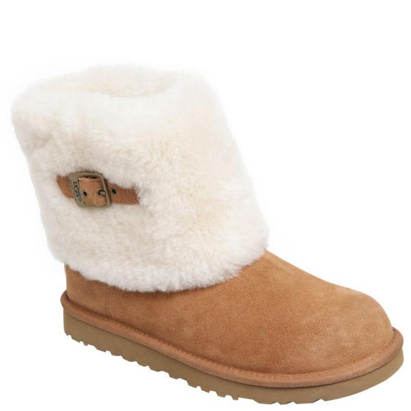 UGG Women's Ellee Sheepskin Ankle Boots - Chestnut
