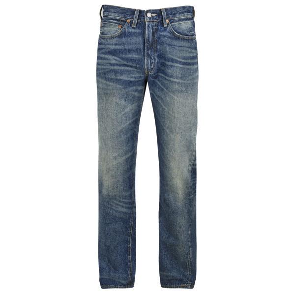 Levi's Vintage Men's 1954 501Z Tapered Fit Cone Mill US Denim Jeans - Barrel Wash