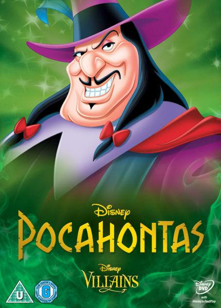 Pocahontas Disney Villains Limited Artwork Edition Dvd