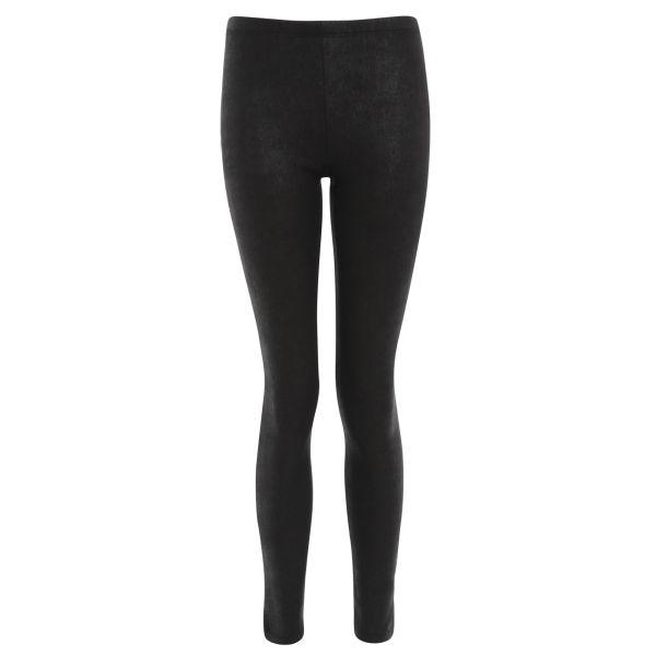Damned Delux Women's Crackle Stretch Leggings - Black