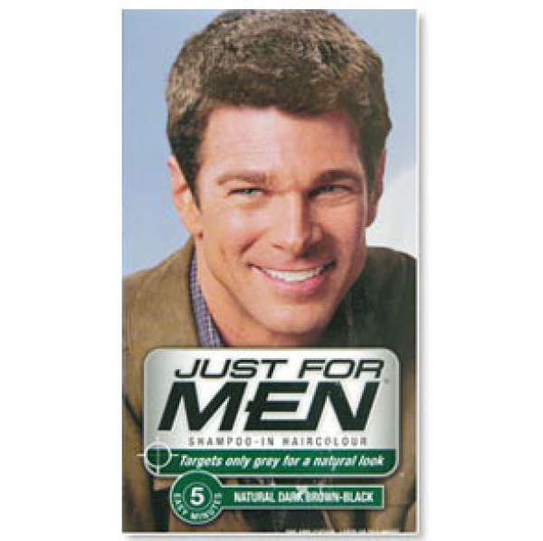 Just for Men Shampoo-in Hair Colour Dark Brown-Black | Buy Online ...