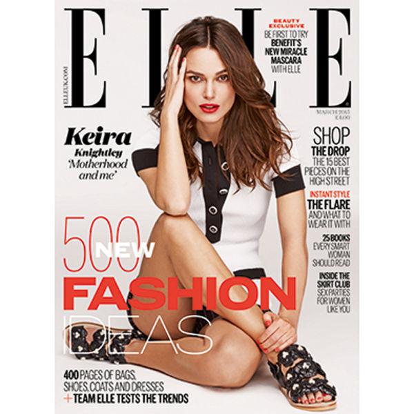 ELLE Magazine March 2015