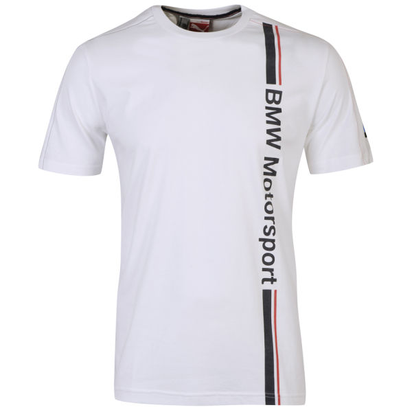 puma men 39 s bmw motorsport t shirt white clothing. Black Bedroom Furniture Sets. Home Design Ideas