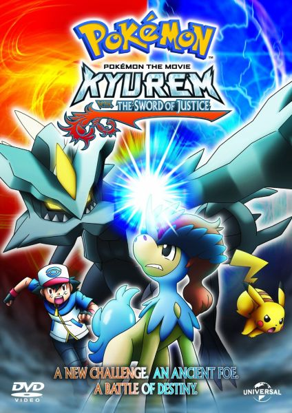 Pokemon Kyurem Vs The Sword Of Justice Includes Limited Edition Cards Dvd Zavvi Com