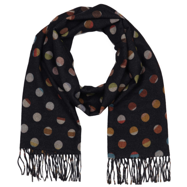 Paul Smith Accessories Women's Swirl Spot Scarf - Multi Swirl
