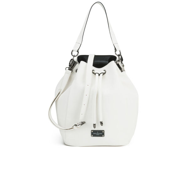 Paul's Boutique Hattie Tonal Snake Duffle Bag - Off White
