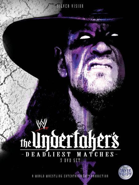 Wwe Undertaker S Deadliest Matches Dvd Zavvi