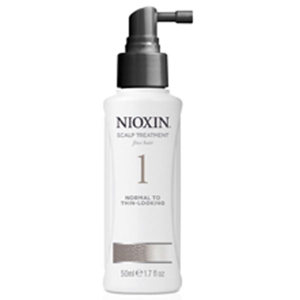 NIOXIN System 1 Scalp Treatment for Normal to Fine Natural Hair (100 ml)