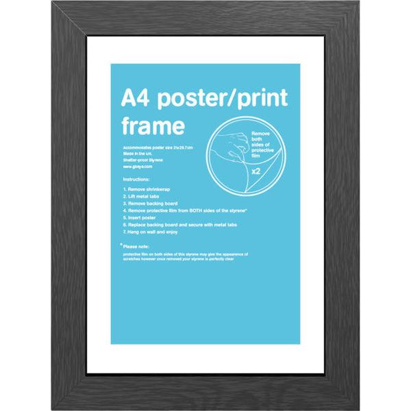 Black Frame A4