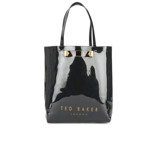 98c574e63e Ted Baker Plain Bow Icon Bag - Black: Image 1